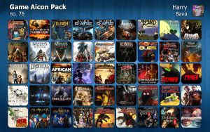 Game Aicon Pack 76 by HarryBana