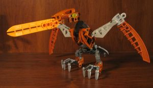 Bionicle Revamp: Gukko bird by AleximusPrime