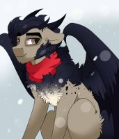 It's cold outside by Scarletskitty12