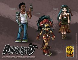 Annyseed HOTSK Character Sheet Preview by MirrorwoodComics
