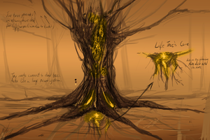 Life Tree Concept by PeterPrime