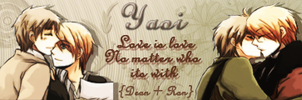 Yaoi Banner by Ron4Life