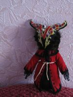 Dragon Cultist Plush by NiGHTSgirl666