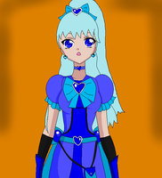 Crystal Pretty Cure- Cure Blue by cupcakeforever19