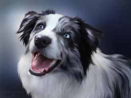 True Blue Friend by ThreshTheSky