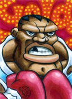 Balrog sketch card by Chad73