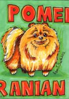 ACEO Dog 2: Pomeranian by ronnieraccoon