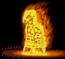 Burning Mare by phallen1