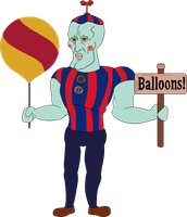 Handsome Balloon Boy by ITS-ALL-NTG