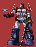 Optimus Prime by InfernalFinn