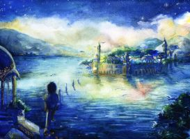 Jal Mahal by Vassantha