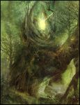 Gaia Heart Of The Forest by Narandel