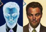 Leonardo DiCaprio - inverted drawing by LornaKelleherArt