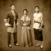 Chang Family Portrait by SapphireGamgee