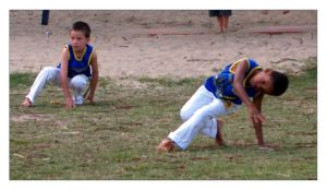 Capoeira by the Beach II by dannishez