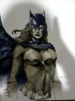 Batgirl HC 2011 Con Sketch by RichardCox