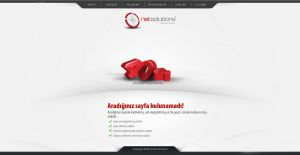 Net Solutions 404 error page by asit87
