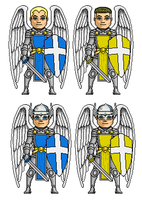 angels of God by digikevin10