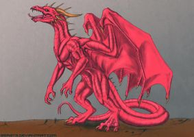 Red dragon by Beast3