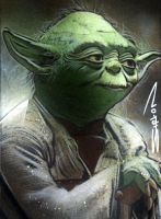 Yoda Sketch Card 3 by RandySiplon
