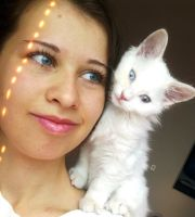 Me and my kitten by lihnida