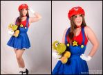 Super Mario Sis. by Neferet-Cosplay