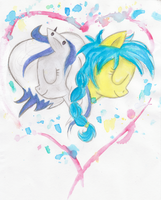 Creative hearts by TheRainbowlum