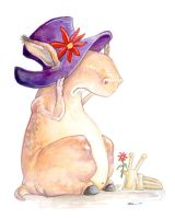 Purple Hat by ursulav