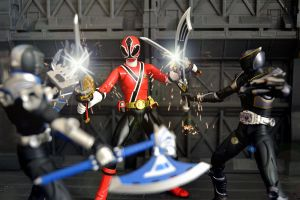 ShinkenRed VS Axe and Onyx by ZaEmpera