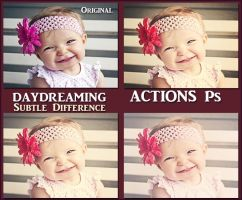 Daydreaming ACTION Ps by Tetelle-passion