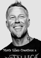 James Hetfield Portrait by MariaEllenCreations
