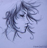 Curly girl by Yuminette