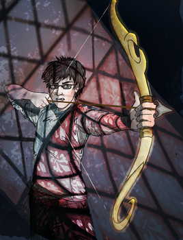 Simon from TMI by C. Clare by maggiemarmalade