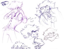 Scary Spike sketches o_______o by dabean