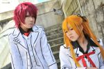 Vampire Knight: Rima and Shiki by artemo-chan