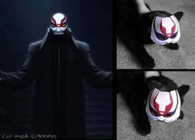 Yokai Cat Mask by Arsevere