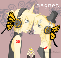 Magnet - Kagamine Len and Rin by Kream-Cheese