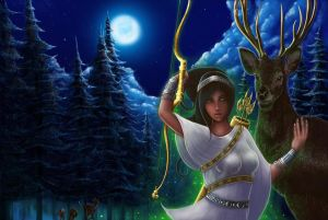 Hellenic Mythology - Artemis, Goddess of the Hunt