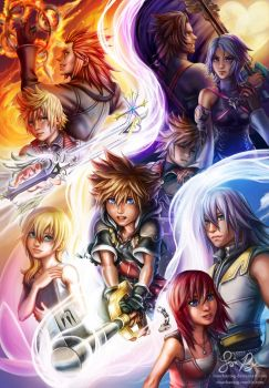 Kingdom Hearts: Light by Risachantag