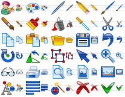Design Icon Set by Ikonod