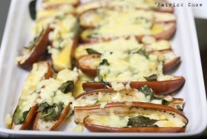 Grilled eggplants by patchow