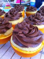 Chocolate on Orange in Orange by ThisIsNotanOwl