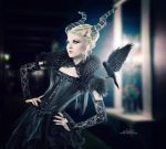 .: Queen Of Darkness :. by Pure-Poison89