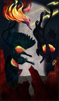 Gryphon Tarot - The Tower by Bailiwick