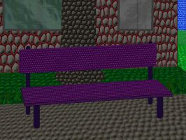 Shaded Bench- Scalism by KBAFourthtime