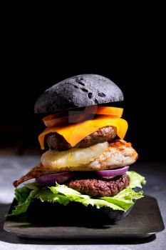 FrankenBurger with Cheese by JWBeyond