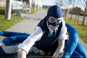 Tentaspy Cosplay Closeup - Youmacon 2011 by Lithe-Fider