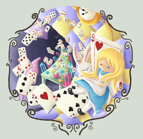 Alice in Wonderland FanArt by parochena