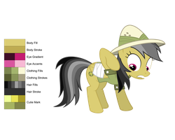 Daring Do Color Guide by Flutterknight