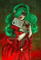 Daddy's meat cleaver by Nephyla
